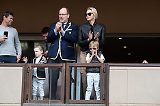Monaco Royals attend the Sainte Devote Rugby Tournament - 10 May 2019