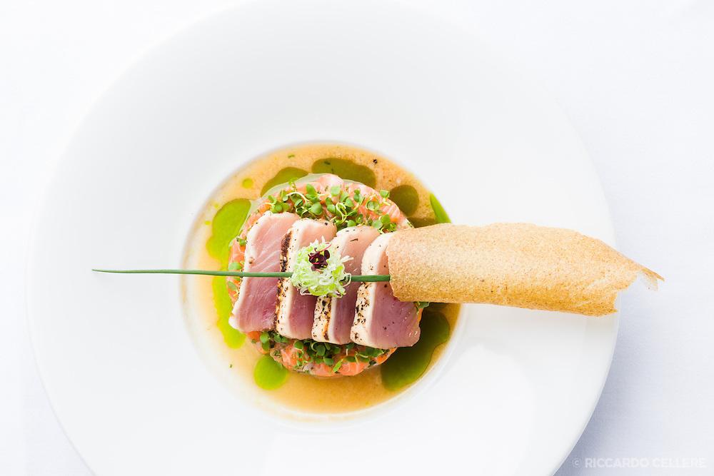 Food photography. Park Restaurant, Montreal - Chef Antonio Park. 2015.