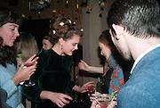 SYBILLA PHIPPS;; PANDORA MCCORMICK; KILLIAN BURKE Fashion and Gardens, The Garden Museum, Lambeth Palace Rd. SE!. 6 February 2014.