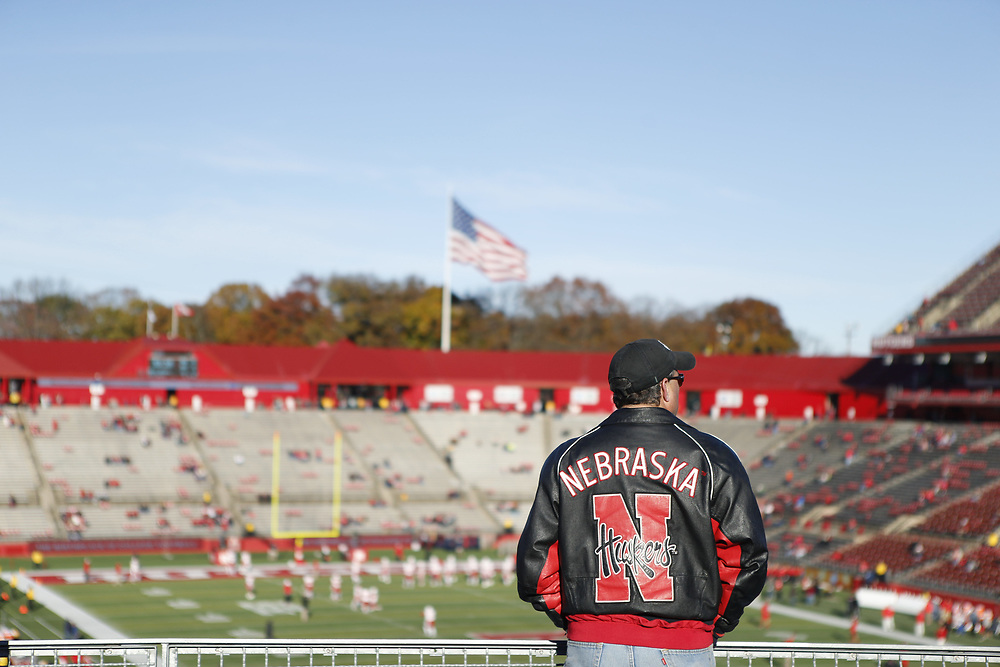 against Rutgers at High Point Solutions Stadium, on Nov. 14, 2015. Photo by Aaron Babcock, Hail Varsity