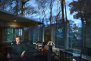 NEW JERSEY, NOVEMBER 9, 2018 Screenplay writer David Magee, who wrote Mary Poppins Returns, is seen in his home office in New Jersey. 11/9/2018