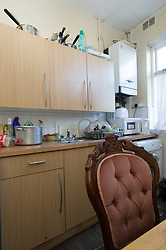 An asylum seeker's accommodation in Rotherham managed by G4S