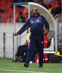 Dan Malesela, Head Coach, of Chippa United during the 2016 Premier Soccer League match between Chippa United and Free State Stars held at the Nelson Mandela Bay Stadium in Port Elizabeth, South Africa on the 23rd August 2016<br /><br />Photo by:   Richard Huggard / Real Time Images