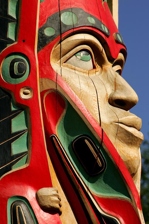 Haida Totem Pole by Donald Varnell, Ketchikan