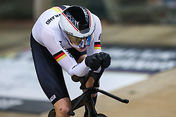 March 1, 2019 - Pruszkow, Poland - Felix Gross of Germany competes in the Men's Individual Pursuit Qualifying race on day three of the UCI Track Cycling World Championships held in the BGZ BNP Paribas Velodrome Arena on March 01, 2019 in Pruszkow, Poland. (Credit Image: © Foto Olimpik/NurPhoto via ZUMA Press)