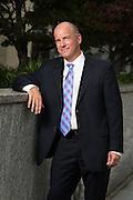 Executive portrait on location