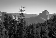 View of Half Dome from Olmsted Point, Yosemite National Park, California, Sierra Nevada Mountains, October, 2010