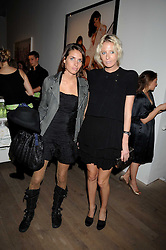Left to right, MARINA HANBURY and the HON.SOPHIA HESKETH at the Quintessentailly Summer Party at the Phillips de Pury Gallery, 9 Howick Place, London on 9th July 2008.<br /><br />NON EXCLUSIVE - WORLD RIGHTS