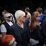 Viale Piave a Milano durante le sfilata di Dolce e Gabbana<br /> <br /> Viale Piave in Milan during the Dolce e Gabbana fashion show.