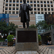 Sir Thomas Jackson Statue in Hong Kong