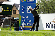 Peter Hedblom of Sweden on the 8th hole during the third round of the Irish Open on 19th of May 2007 at the Adare Manor Hotel & Golf Resort, Co. Limerick, Ireland. (Photo by Manus O'Reilly/NEWSFILE)