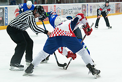 OI pre-qualifications of Group G between Slovenia men's national ice hockey team and Croatia men's national ice hockey team, on February 7, 2020 in Ice Arena Podmezakla, Jesenice, Slovenia. Photo by Peter Podobnik / Sportida