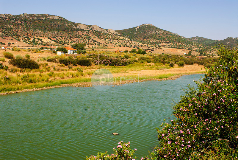 Río Guadalmez.Guadalmez.Valle de Alcudia.Ciudad Real. ©Antonio Real Hurtado / PILAR REVILLA