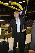 Legendary Kicker and ex New Orleans Saints Morten Andersen (5) walks on the field in the newely refurbished SuperDome for the first time as an Atlanta Falcon for the reopening of the SuperDome for ESPN Monday Night Football Monday Sept. 25,2005. (Photo/Suzi Altman)