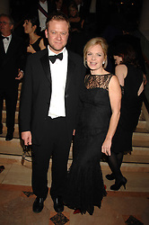 MARIELLA FROSTRUP and her husband JASON McCUE at The Diner Des Tsars in aid of Unicef to celebrate the launch of Quintessentially Wine held at the Guildhall, London EC2 on 29th March 2007.<br /><br />NON EXCLUSIVE - WORLD RIGHTS