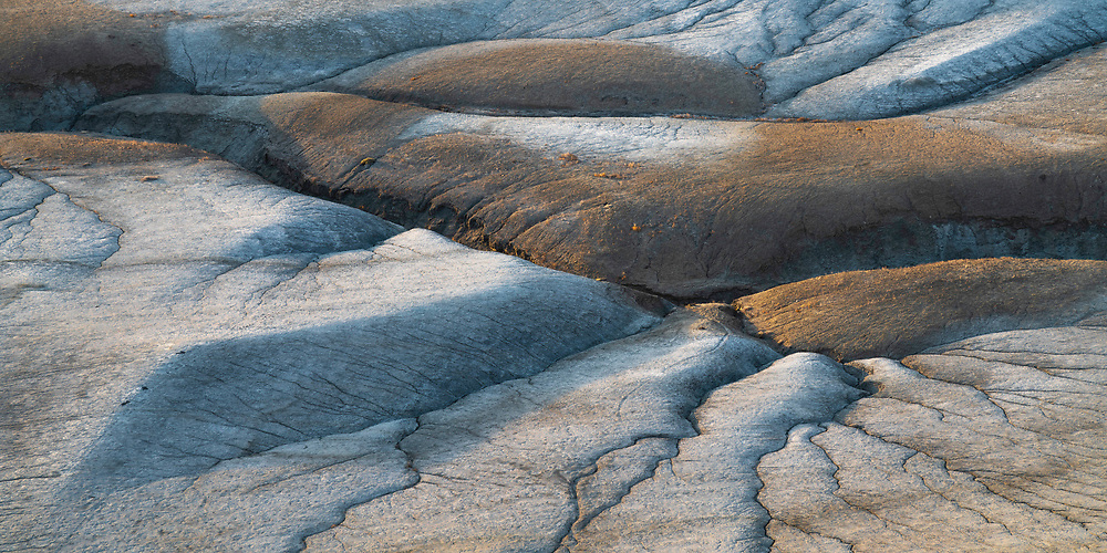 The desert of Southern Utah cracks and breaks through showing how fragile the world is.