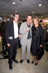 Left to right, NICHOLAS CLEE, ROGER TAGHOLM and CAROLINE MICHEL at the Foyles Bookshop Summer Party at their store in Charing Cross Road, London on 3rd September 2008.<br /> <br /> NON EXCLUSIVE - WORLD RIGHTS