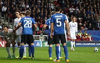 Fotball, 27. september 2016 , Champions League, FC Copenhagen - FC Brugge<br /> Ludwig Augustinsson av Copenhagen i aksjon mot Brugge.<br /> Foto: Andrew Halseid Budd , Digitalsport