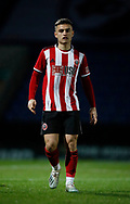 Leo Gaxha of Sheffield Utd during the Professional Development League  match at the Proact Stadium, Chesterfield. Picture date: 3rd February 2020. Picture credit should read: Simon Bellis/Sportimage
