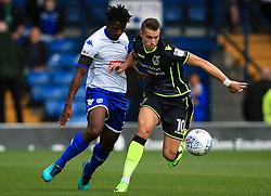 Billy Bodin of Bristol Rovers takes on Greg Leigh of Bury - Mandatory by-line: Matt McNulty/JMP - 19/08/2017 - FOOTBALL - Gigg Lane - Bury, England - Bury v Bristol Rovers - Sky Bet League One