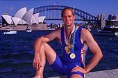 2000  Steve REDGRAVE, 5 Olympic Gold Medals