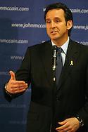 3/15/07 Ames IA Arizona Senator John McCain <br /> <br /> . (photo by Chris Machian/ for the New York Times)