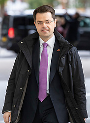 © Licensed to London News Pictures. 04/11/2018. London, UK. Secretary of State for Housing, Communities and Local Government James Brokenshire arrives at BBC Broadcasting House to appear on The Andrew Marr Show. Photo credit: Rob Pinney/LNP