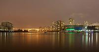 Feature / Reportasje<br /> OL 2010 Vancouver Canada<br /> Foto: Gepa/Digitalsport<br /> NORWAY ONLY<br /> <br /> Vorschau auf die Olympischen Winterspiele 2010 in Vancouver. <br /> <br /> Bild zeigt die Skyline von Vancouver und das BC Place Stadium bei Nacht