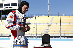February 8, 2018 - Avondale, Arizona, United States of America - February 08, 2018 - Avondale, Arizona, USA: Tony Kanaan (14) gets suited up to the track for the Prix View at ISM Raceway in Avondale, Arizona. (Credit Image: © Justin R. Noe Asp Inc/ASP via ZUMA Wire)