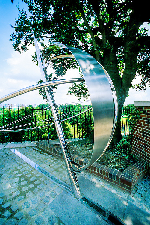The Prime Meridian of Longitude, Old Royal Observatory, Greenwich Royal Park, Greenwich, England