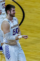NORMAL, IL - February 27: Austin Phyfe during a college basketball game between the ISU Redbirds and the Northern Iowa Panthers on February 27 2021 at Redbird Arena in Normal, IL. (Photo by Alan Look)