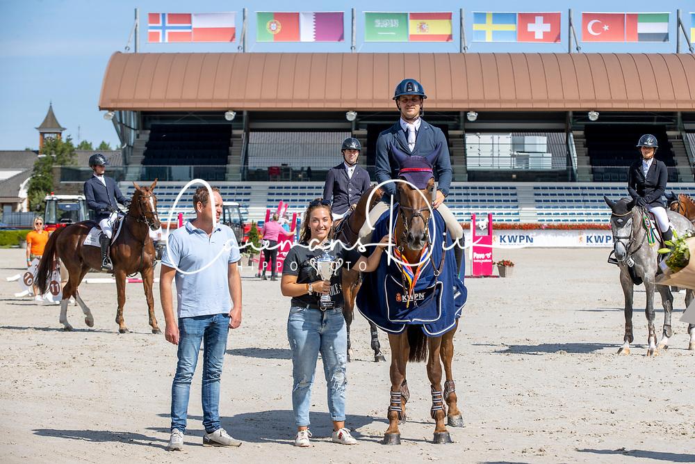 Kuipers Doron, NED, Just Special VK<br /> Nationaal Kampioenschap KWPN<br /> 6 jarigen springen final<br /> © Hippo Foto - Dirk Caremans<br />  19/08/2020