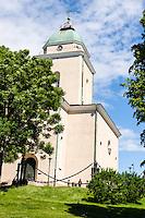Finland, Helsinki. Suomenlinna church.