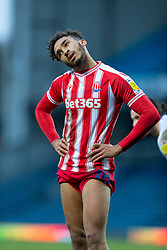 BLACKBURN, ENGLAND - Saturday, January 16, 2021: Stoke City's Jacob Brown during the Football League Championship match between Blackburn Rovers FC and Stoke City FC at Ewood Park. The game ended in a 1-1 draw. (Pic by David Rawcliffe/Propaganda)