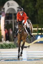 Estermann Paul, (SUI), Castlefield Eclipse<br /> Final<br /> Furusiyya FEI Nations Cup Jumping Final - Barcelona 2015<br /> © Dirk Caremans<br /> 26/09/15