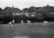 18/07/1970<br /> 07/18/1970<br /> 18 July 1970<br /> Cricket: Clontarf 1st XI v Old Belvedere, Leinster Senior Cup Final at Clontarf Cricket Club, Castle Avenue, Dublin. Kevin O'Riordan, Old Belvedere, batting.