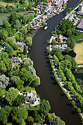 Nederland, Utrecht, Gemeente Abcoude, 25-05-2010; Vecht bij Nieuwersluis.luchtfoto (toeslag), aerial photo (additional fee required).foto/photo Siebe Swart