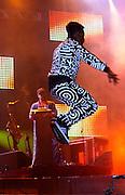 Belo Horizonte_MG, Brasil...Show da banda americana Black Eyed Peas no 2o dia do Pop Rock Brasil no Mineirao...Show of the Amercian band Black Eyed Peas in the second day of Pop Rock Brazil on Mineirao...Foto: LEO DRUMOND / NITRO
