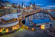 Seattle skyline from Pier 66