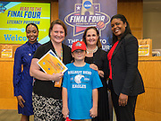 Walnut Bend Elementary School is recognized during the reveal of the 32 finalists in the Houston ISD NCAA Read to the Final Four, November 11, 2015.