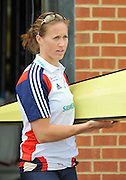 Caversham, Great Britain. GBR  W2-. Helen GLOVER. 2012 GB Rowing World Cup Team Announcement Wednesday  04/04/2012  [Mandatory Credit; Peter Spurrier/Intersport-images]