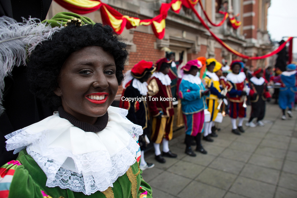 Sint Nicolaas, Dutch national feast is being criticised for racism because of the 'black piet', the 'helpers of St Nicolaas.