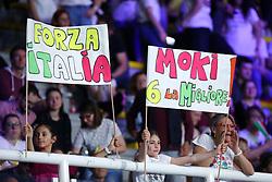 I TIFOSI DELL'ITALIA<br /> ITALIA - USA<br /> PALLAVOLO VNL VOLLEY FEMMINILE 2019<br /> CONEGLIANO (TV) 29-05-2019<br /> FOTO FILIPPO RUBIN
