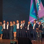 NLD/Scheveningen/20180630 - Koning bij Award Diner Volvo Ocean Race, Team AkzoNobel<br /> Volvo Ocean 65