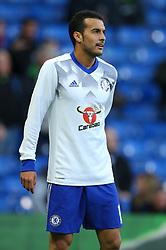 Pedro of Chelsea during warm ups - Mandatory by-line: Jason Brown/JMP - 08/05/17 - FOOTBALL - Stamford Bridge - London, England - Chelsea v Middlesbrough - Premier League
