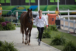 Auffarth Sandra, GER, Opgun Louvo<br /> Final Horse inspection Eventing<br /> Olympic Games Rio 2016<br /> © Hippo Foto - Dirk Caremans<br /> 09/08/16
