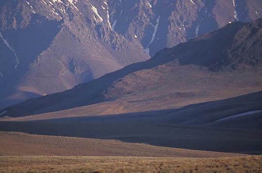 Alaska, Brooks Range in the Arctic National Wildlife Refuge. ANWR.
