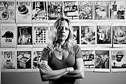 Christine Pelisek, in the LA Weekly offices.