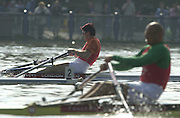 Peter Spurrier Sports  Photo.email pictures@rowingpics.com.Tel 44 (0) 7973 819 551..Photo Peter Spurrier.29/03/2002.2002 Thames World Sculling Challenge.Iztok Cop Rowing Course: River Thames, Championship course, Putney to Mortlake 4.25 Miles [Mandatory Credit Peter Spurrier; Intersport Images]