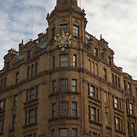 Haroods, the world's most famous department store, Knightsbridge, London